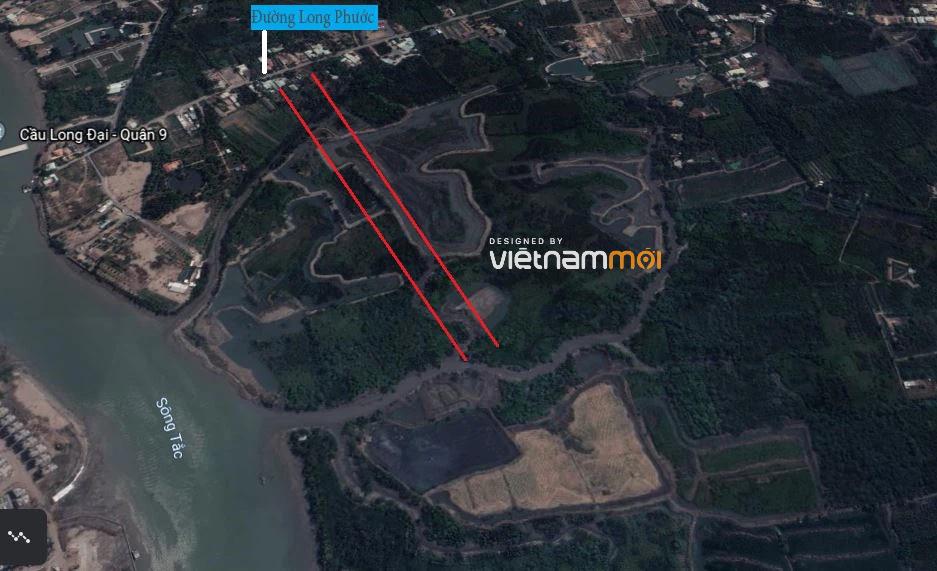 Đường sẽ mở theo quy hoạch ở phường Long Phước, quận 9, Thủ Đức, TP HCM (phần 2) - Ảnh 2.