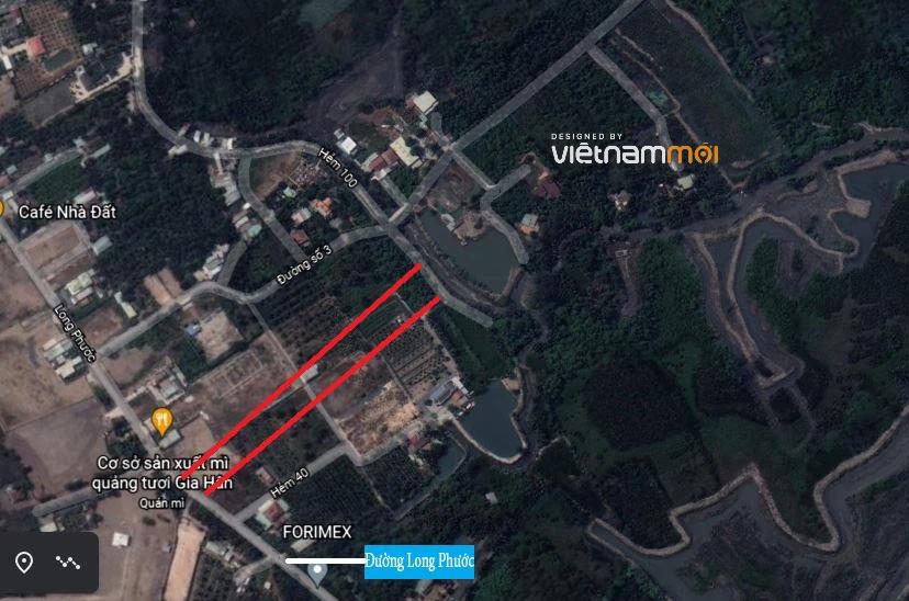 Đường sẽ mở theo quy hoạch ở phường Long Phước, quận 9, Thủ Đức, TP HCM (phần 2) - Ảnh 3.