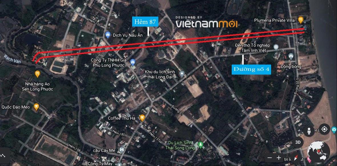 Đường sẽ mở theo quy hoạch ở phường Long Phước, quận 9, Thủ Đức, TP HCM (phần 2) - Ảnh 5.