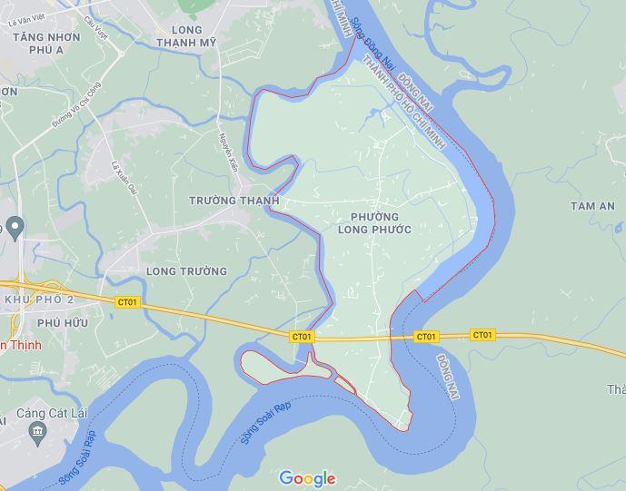 Đường sẽ mở theo quy hoạch ở phường Long Phước, quận 9, Thủ Đức, TP HCM (phần 2) - Ảnh 1.