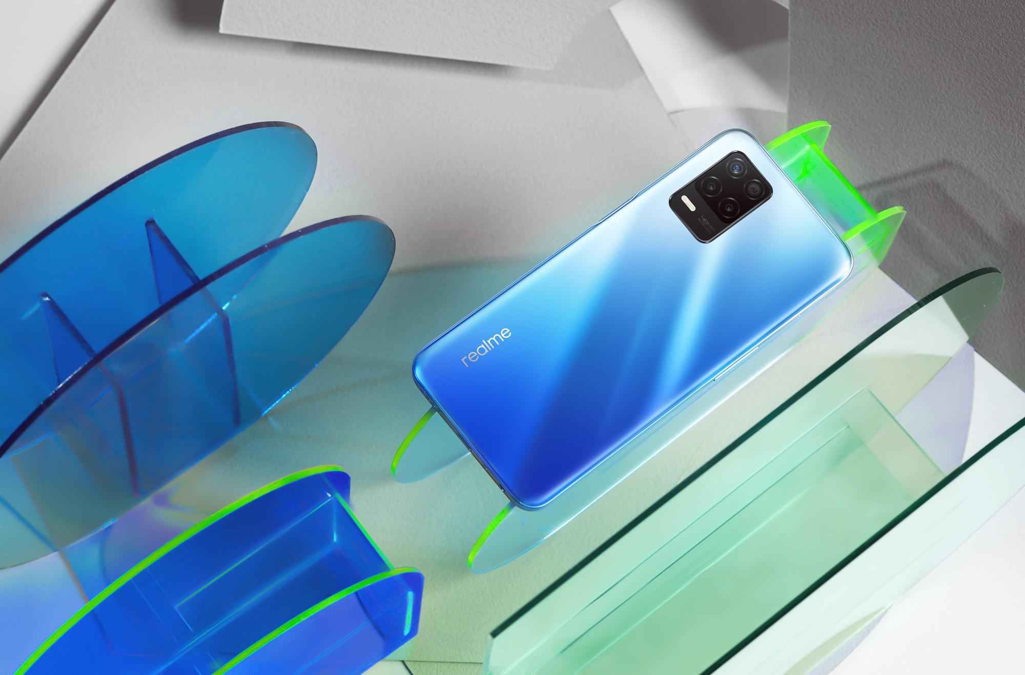 realme 8 5G siêu mỏng nhẹ ra mắt với công nghệ RAM ảo mạnh mẽ, tăng cường cụm camera chụp đêm ấn tượng - Ảnh 2.