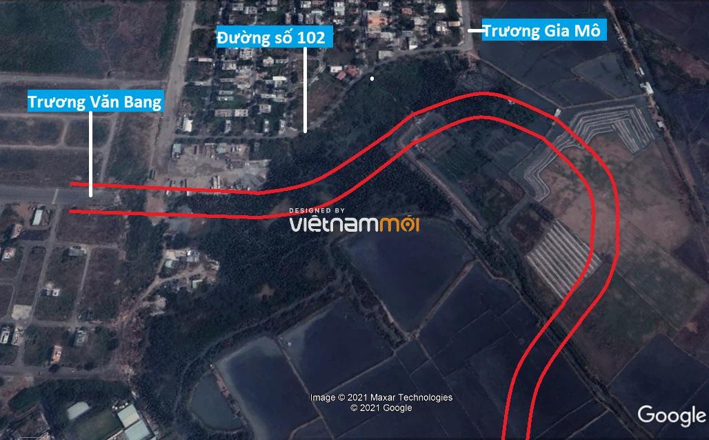 Đường sẽ mở theo quy hoạch ở phường Thạnh Mỹ Lợi, quận 2, Thủ Đức, TP HCM (phần 4) - Ảnh 3.