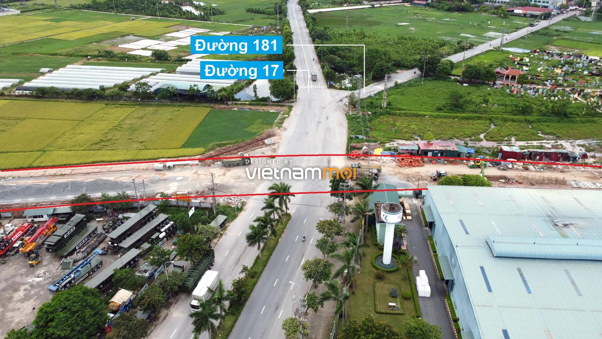 Toàn cảnh tuyến đường từ KĐT Đặng Xá đến Ỷ Lan đang mở theo quy hoạch ở Hà Nội - Ảnh 2.