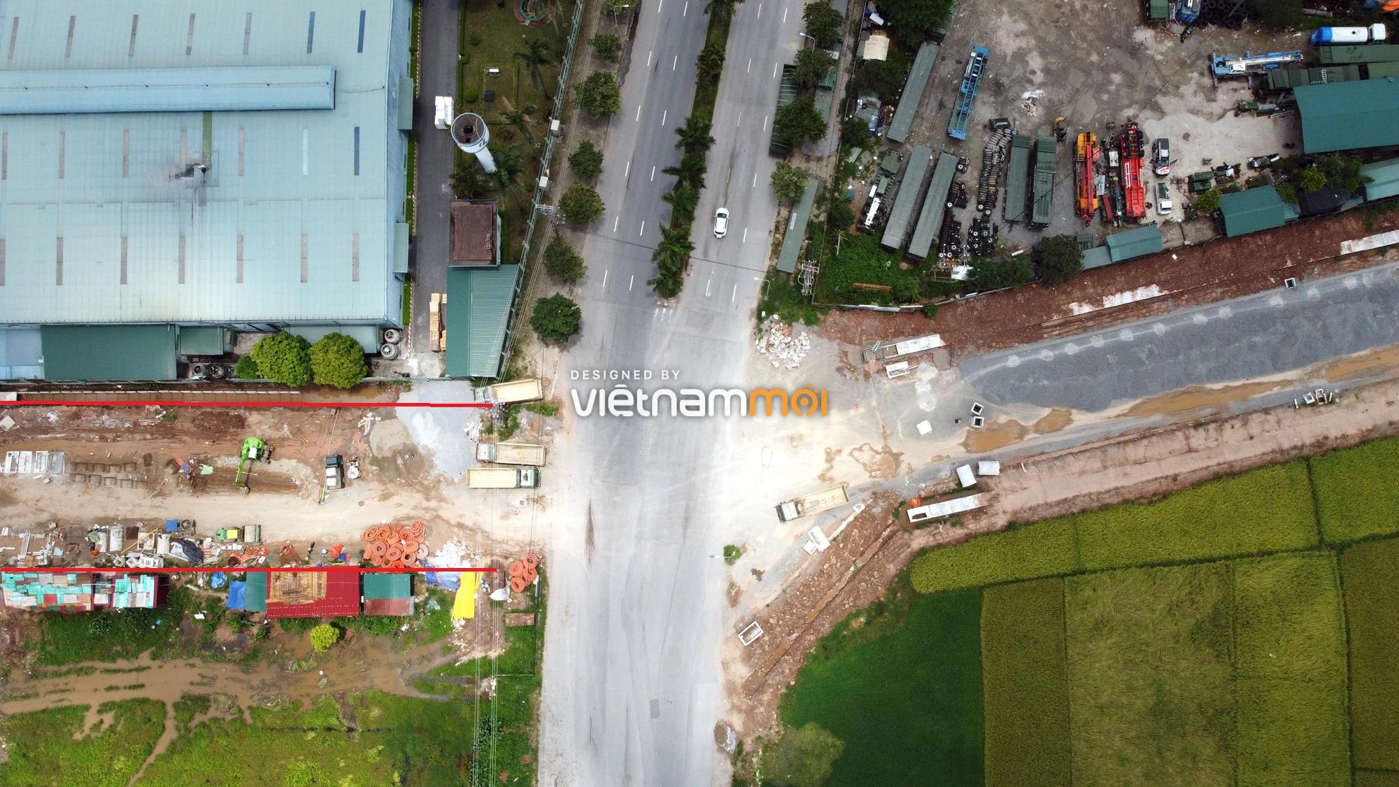 Toàn cảnh tuyến đường từ KĐT Đặng Xá đến Ỷ Lan đang mở theo quy hoạch ở Hà Nội - Ảnh 3.