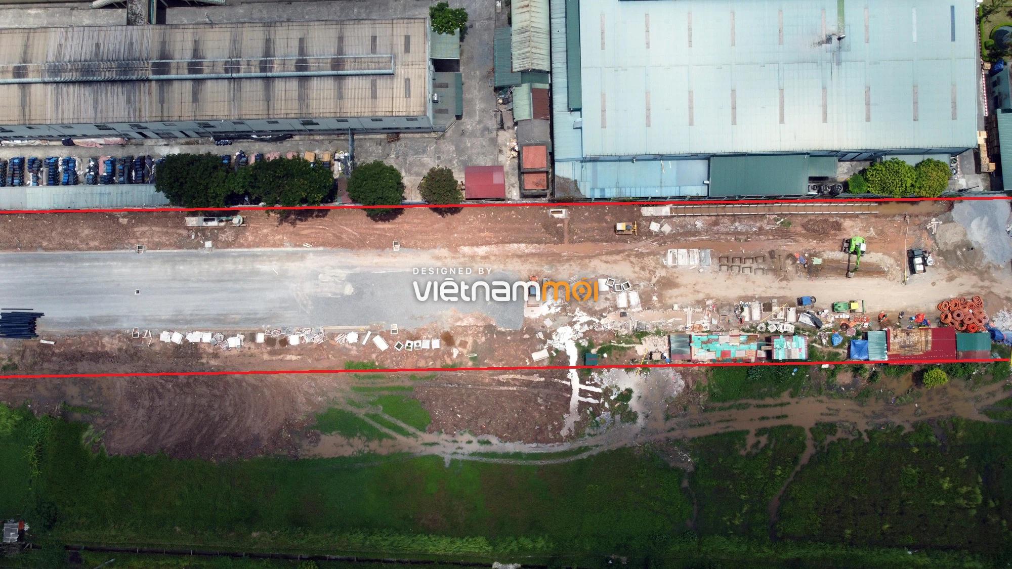Toàn cảnh tuyến đường từ KĐT Đặng Xá đến Ỷ Lan đang mở theo quy hoạch ở Hà Nội - Ảnh 5.