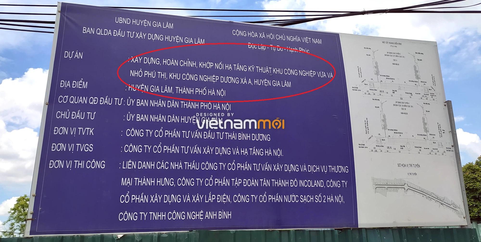 Toàn cảnh tuyến đường từ KĐT Đặng Xá đến Ỷ Lan đang mở theo quy hoạch ở Hà Nội - Ảnh 12.