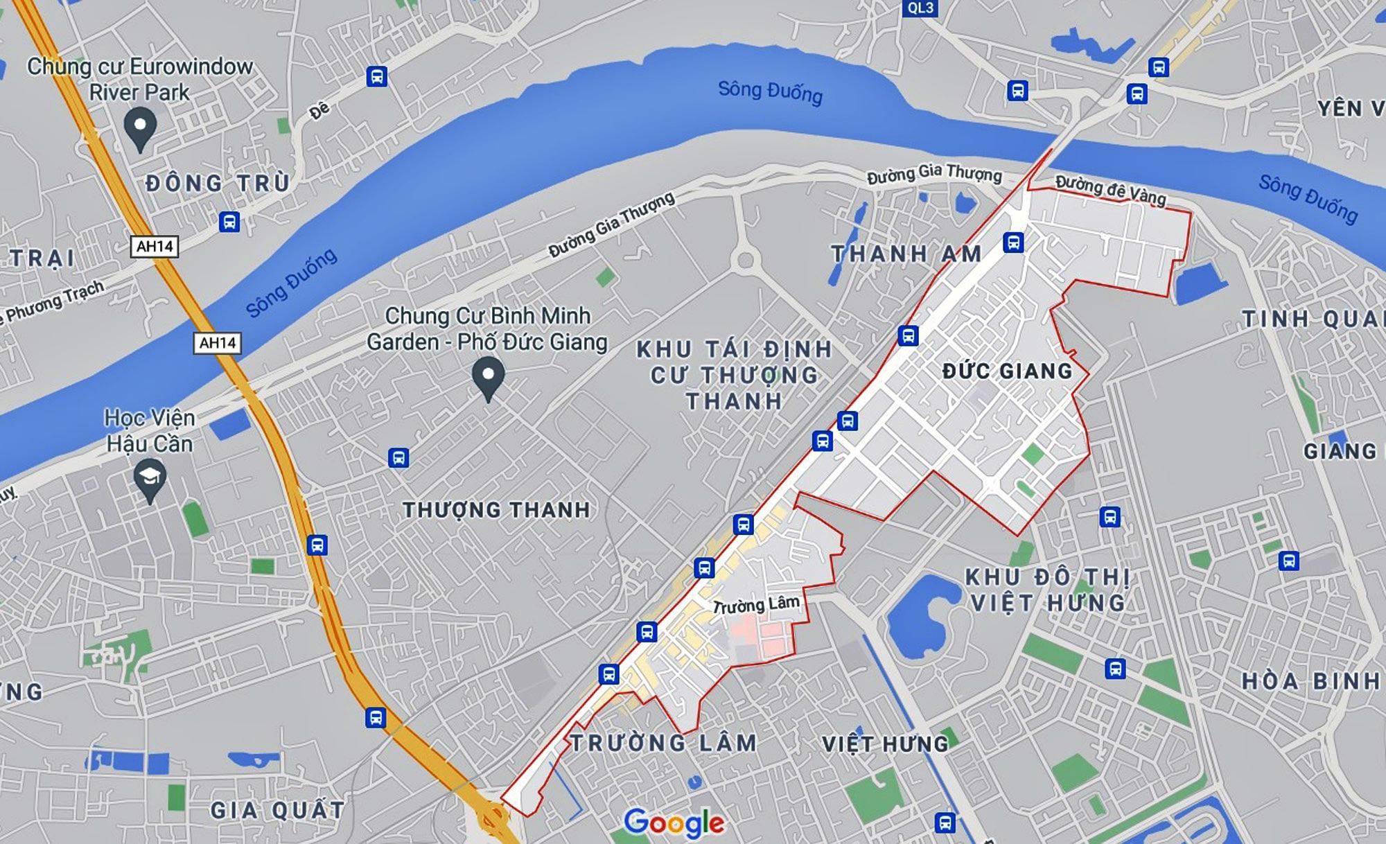 Những khu đất sắp thu hồi để mở đường ở phường Đức Giang, Long Biên, Hà Nội (phần 3) - Ảnh 1.