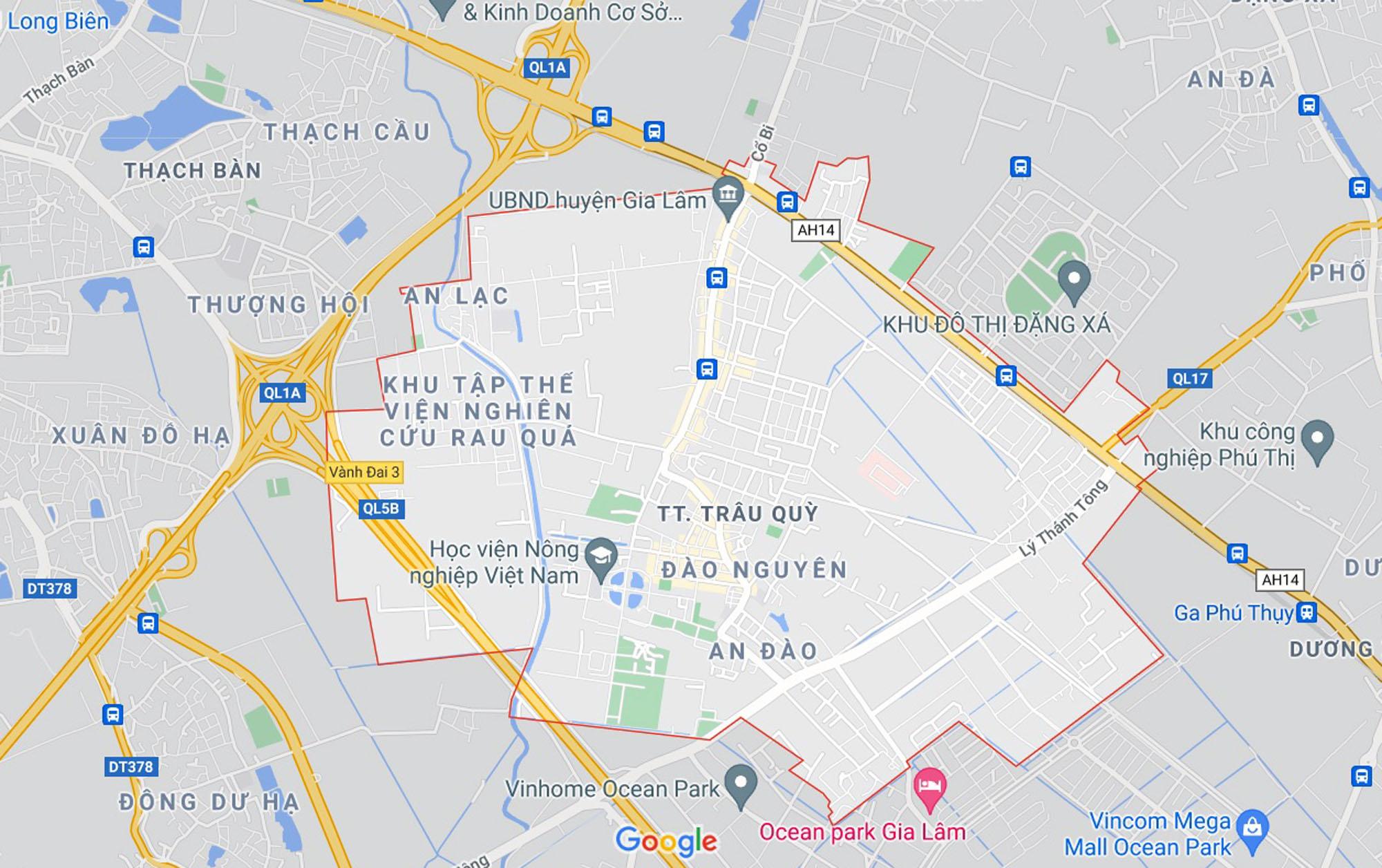 Đường sẽ mở theo quy hoạch ở thị trấn Trâu Quỳ, Gia Lâm, Hà Nội (phần 3) - Ảnh 1.