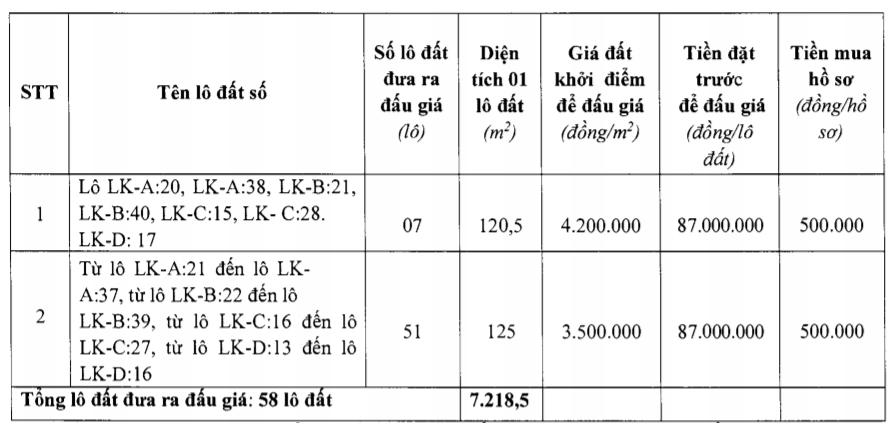 Thanh Hóa sắp đấu giá 58 lô đất tại Quảng Xương, khởi điểm từ 3,5 triệu đồng/m2 - Ảnh 1.