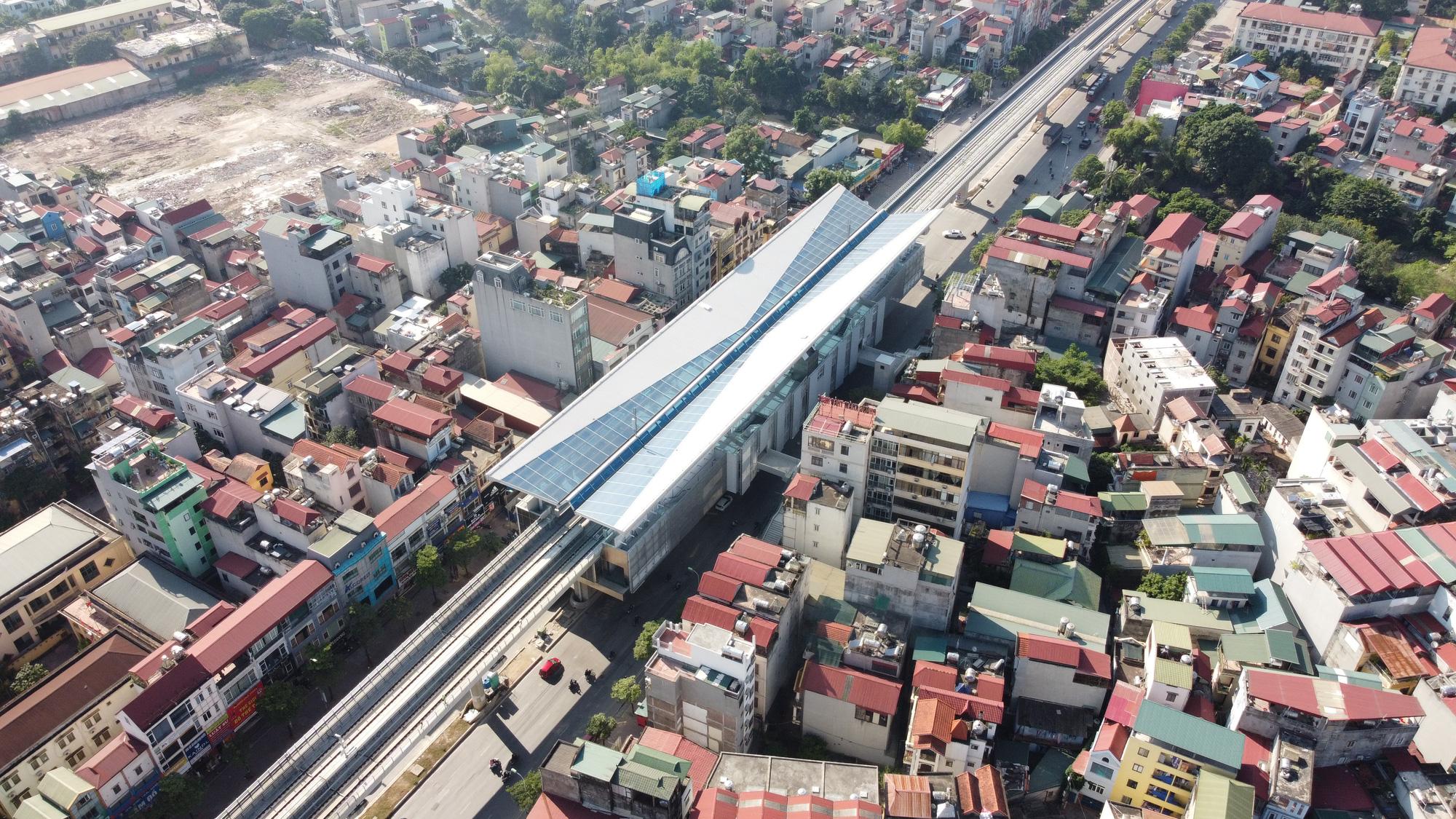 Thúc tiến độ tuyến đường sắt đô thị đoạn Nhổn - ga Hà Nội - Ảnh 1.