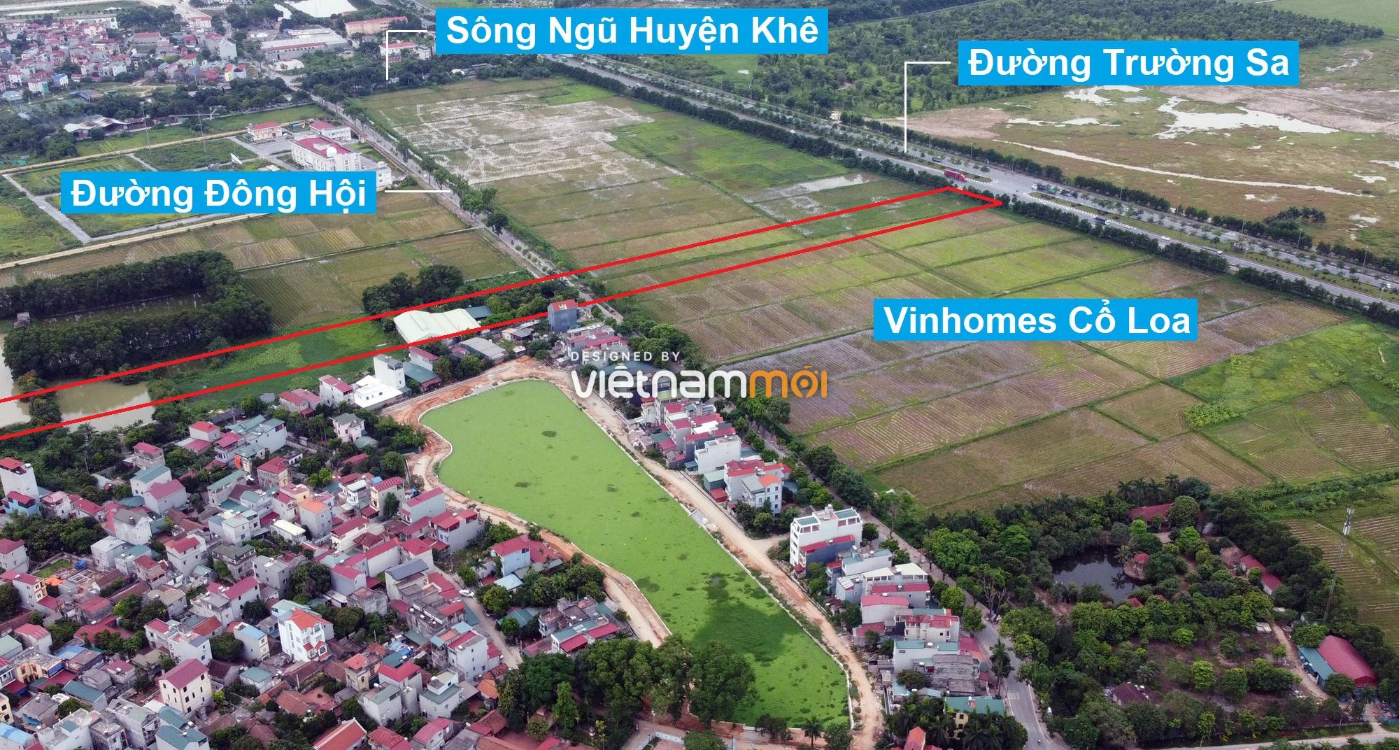 Đường sẽ mở theo quy hoạch xung quanh khu đô thị Vinhomes Cổ Loa (phần 2) - Ảnh 2.