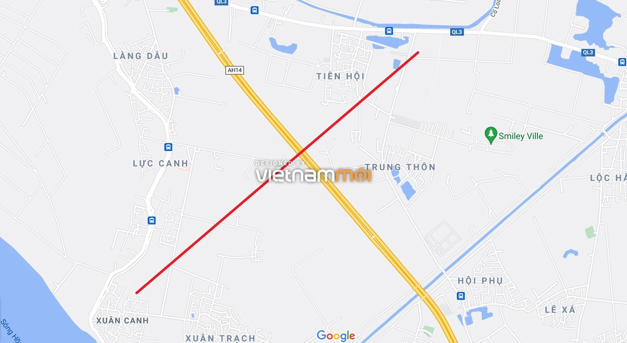 Đường sẽ mở theo quy hoạch xung quanh khu đô thị Vinhomes Cổ Loa (phần 2) - Ảnh 12.