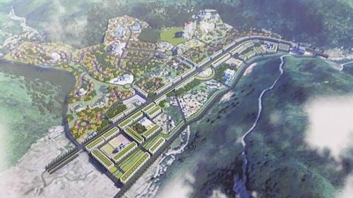 Hòa Bình yêu cầu FLC hoàn thành quy hoạch KĐT du lịch Tòng Đậu trong tháng 8 - Ảnh 1.