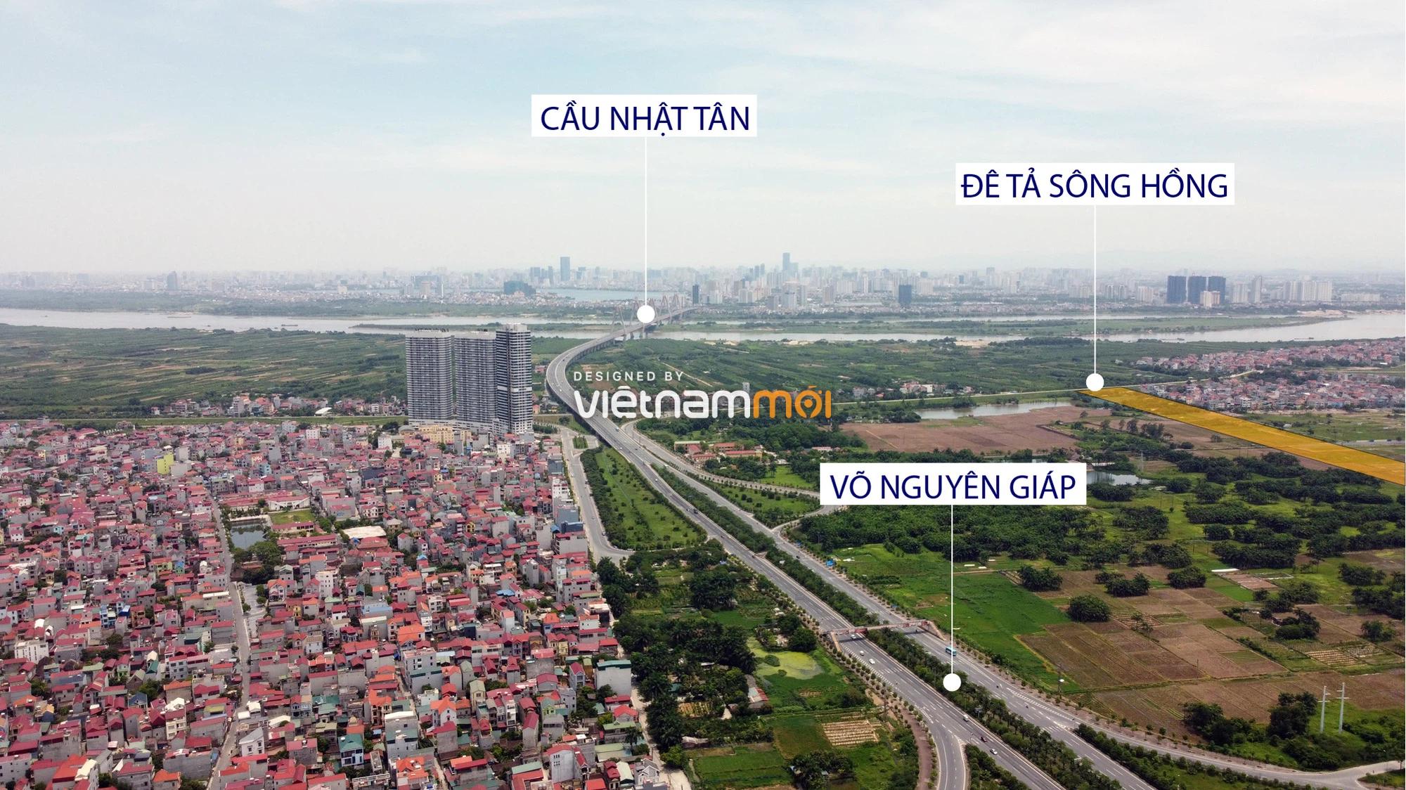 Đường sẽ mở theo quy hoạch xung quanh dự án Thành phố Thông minh Bắc Hà Nội (phần 1) - Ảnh 2.