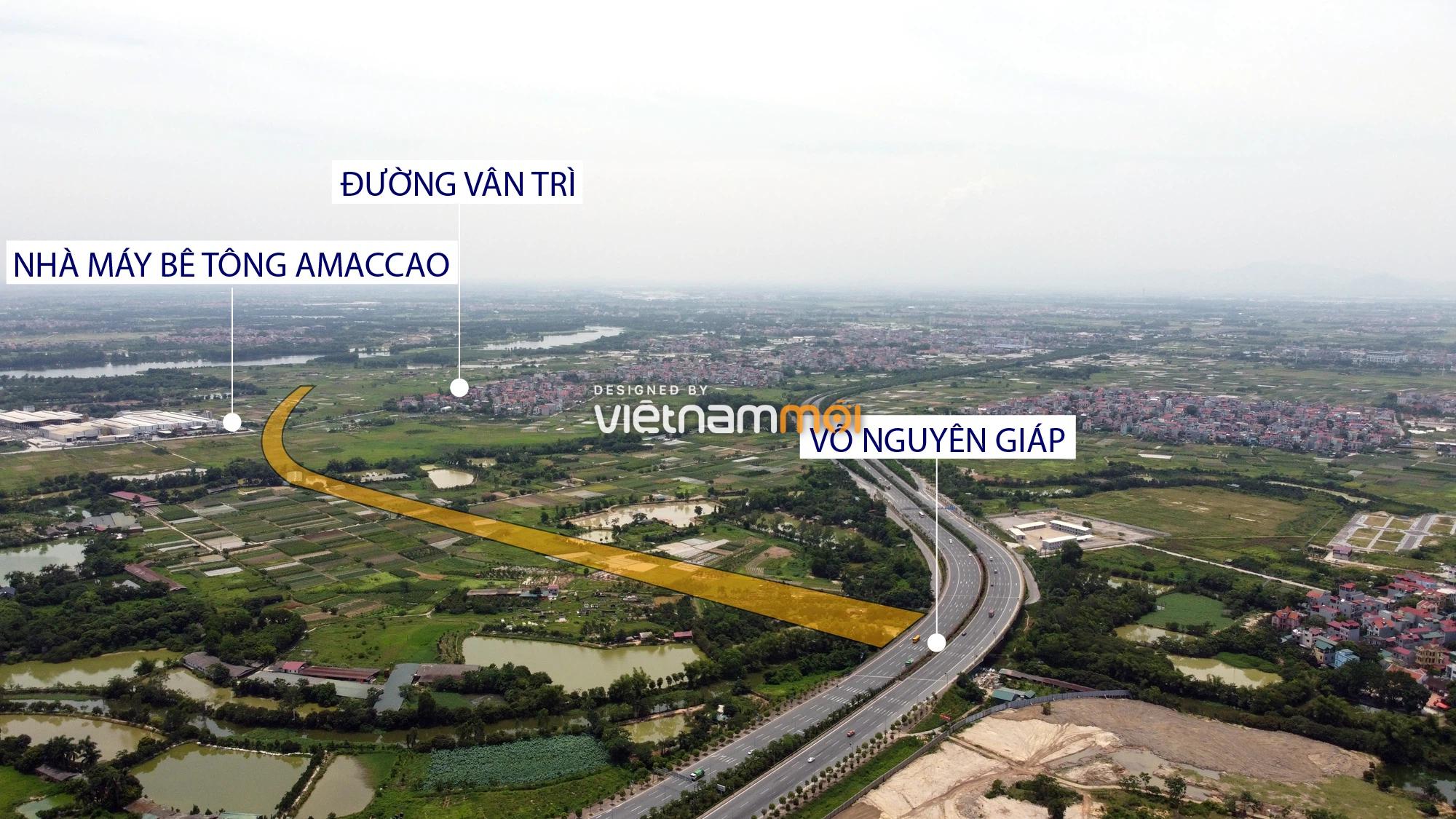 Đường sẽ mở theo quy hoạch xung quanh dự án Thành phố Thông minh Bắc Hà Nội (phần 1) - Ảnh 9.