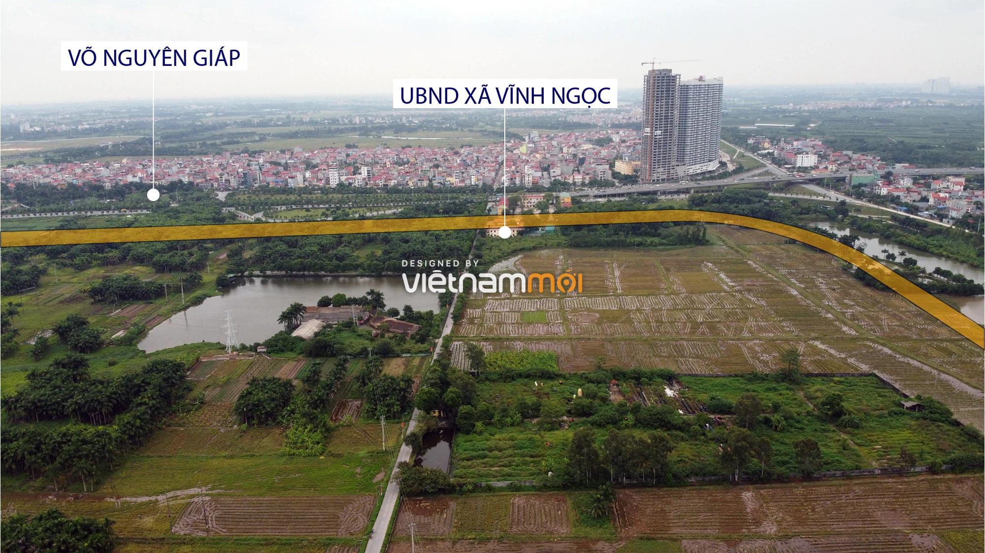 Đường sẽ mở theo quy hoạch xung quanh dự án Thành phố Thông minh Bắc Hà Nội (phần 1) - Ảnh 14.