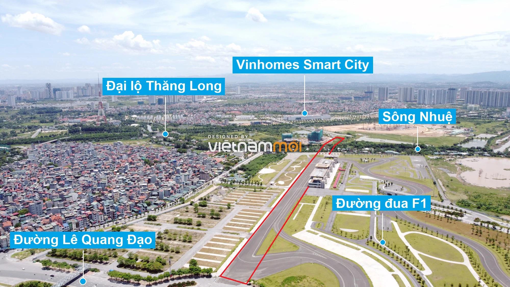 Đường sẽ mở theo quy hoạch xung quanh khu đô thị Vinhomes Smart City (phần 3) - Ảnh 2.
