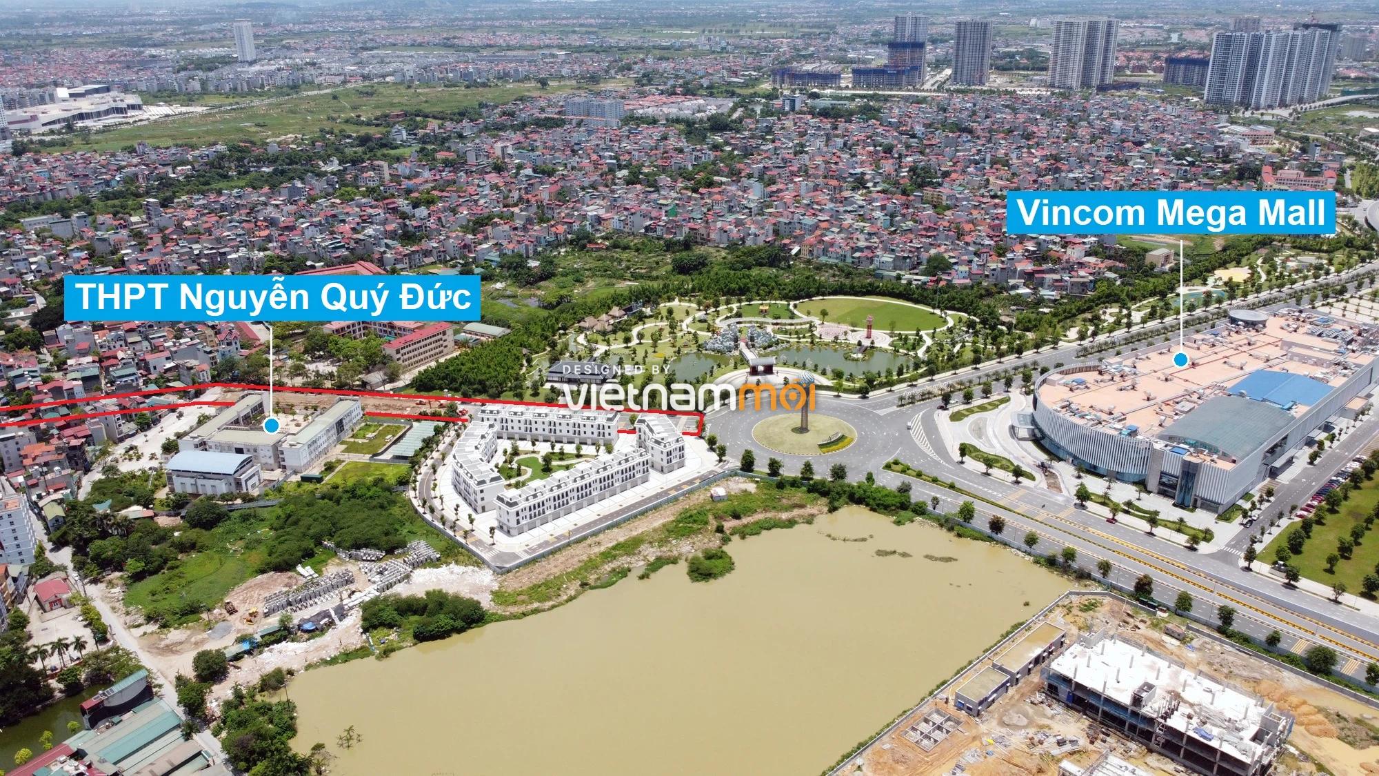Đường sẽ mở theo quy hoạch xung quanh khu đô thị Vinhomes Smart City (phần 3) - Ảnh 11.
