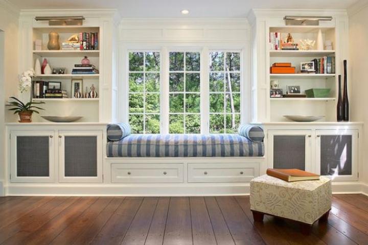 Gợi ý cách thiết kế chỗ ngồi bên cửa sổ thoải mái nhất - Ảnh 2.