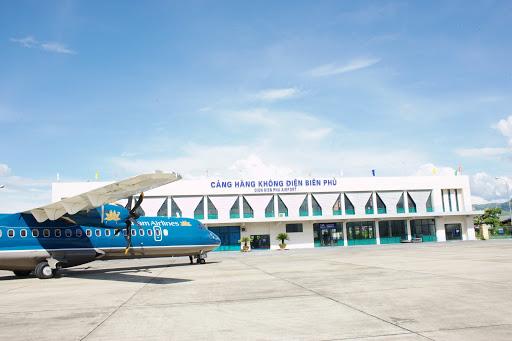 Dự án sân bay Điện Biên mở rộng có tổng mức đầu tư hơn 1.500 tỷ đồng. (Ảnh:Cảng vụ Hàng không Miền Bắc).
