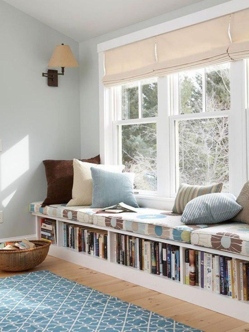Gợi ý cách thiết kế chỗ ngồi bên cửa sổ thoải mái nhất - Ảnh 5.