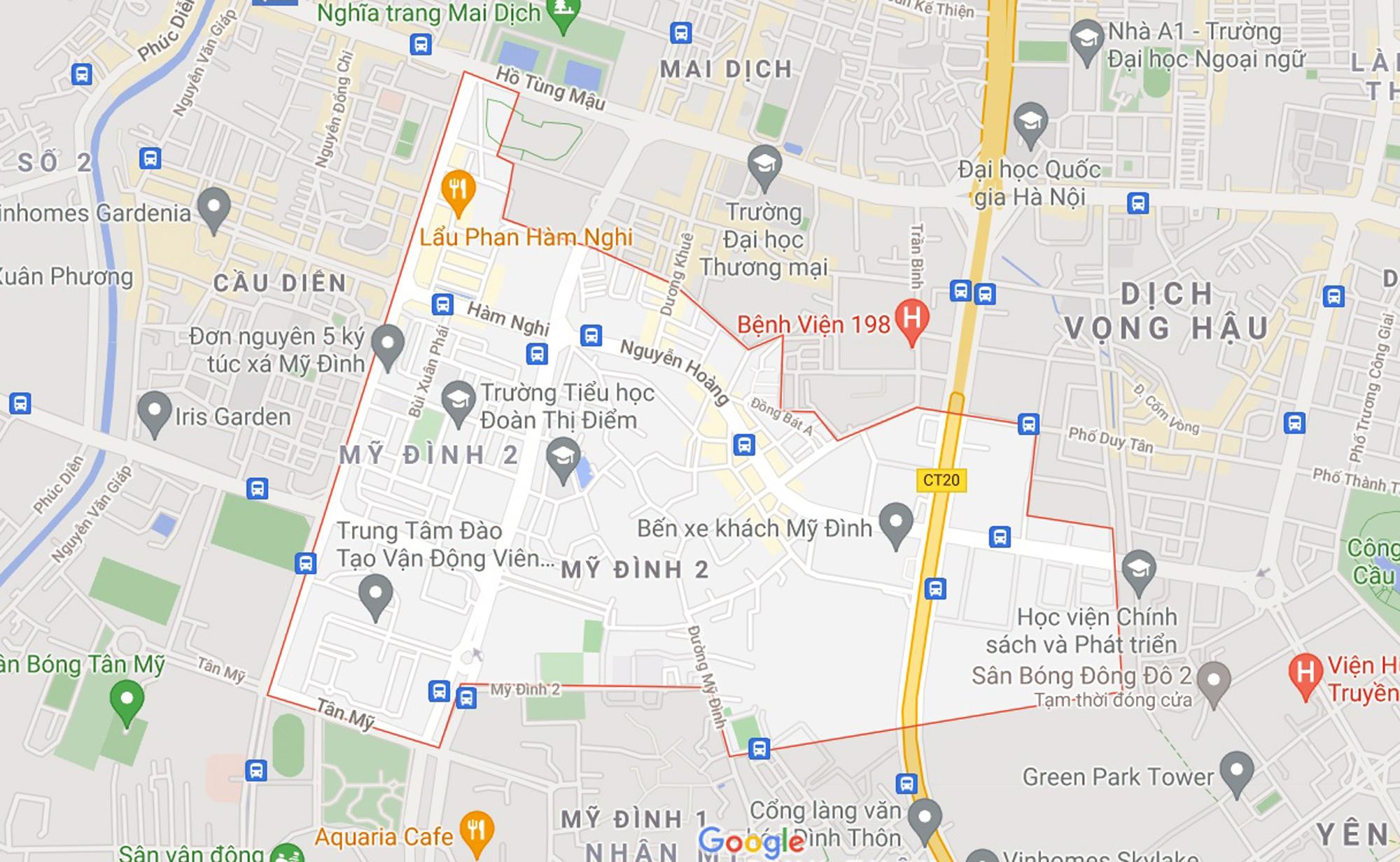 Những khu đất sắp thu hồi để mở đường ở phường Mỹ Đình 2, Nam Từ Liêm, Hà Nội - Ảnh 1.