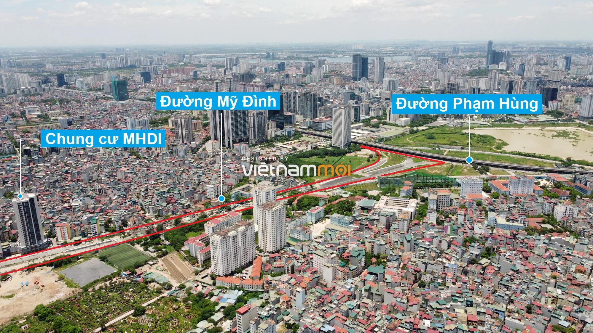 Những khu đất sắp thu hồi để mở đường ở phường Mỹ Đình 2, Nam Từ Liêm, Hà Nội (phần 1) - Ảnh 8.
