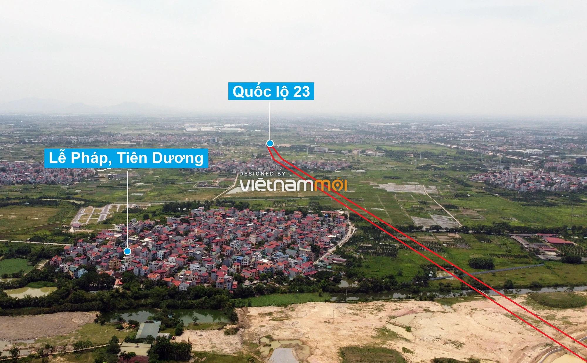 Đường sẽ mở theo quy hoạch xung quanh dự án Thành phố Thông minh Bắc Hà Nội (phần 2) - Ảnh 10.