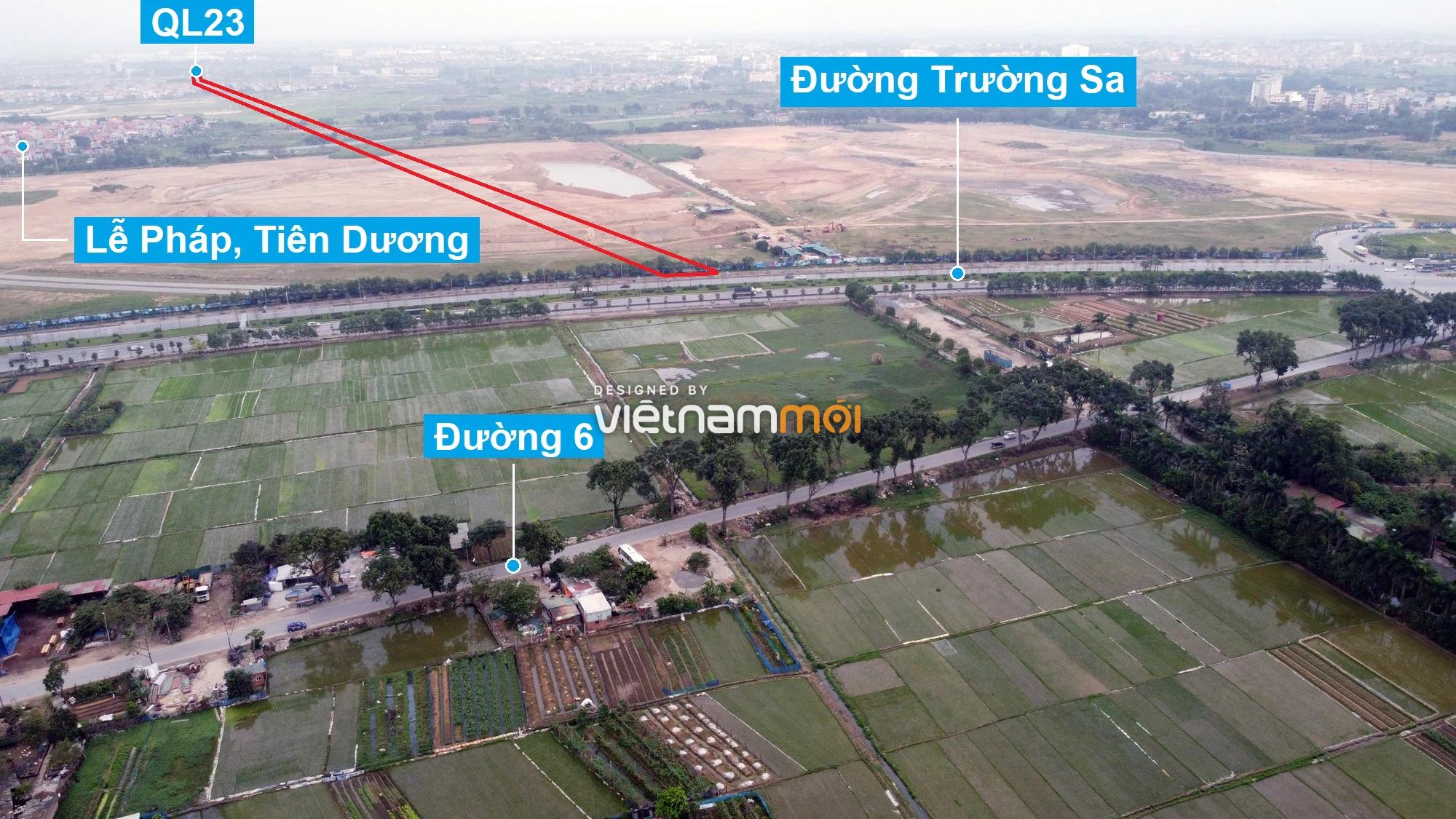 Đường sẽ mở theo quy hoạch xung quanh dự án Thành phố Thông minh Bắc Hà Nội (phần 2) - Ảnh 11.