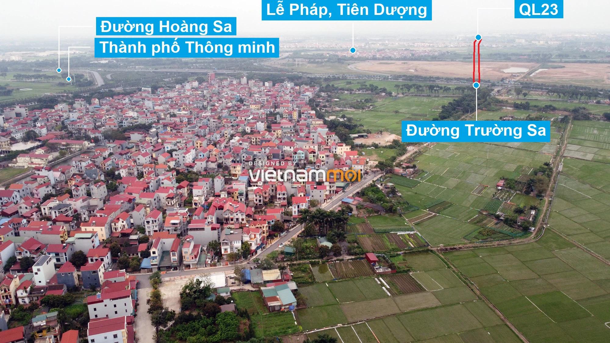 Đường sẽ mở theo quy hoạch xung quanh dự án Thành phố Thông minh Bắc Hà Nội (phần 2) - Ảnh 12.