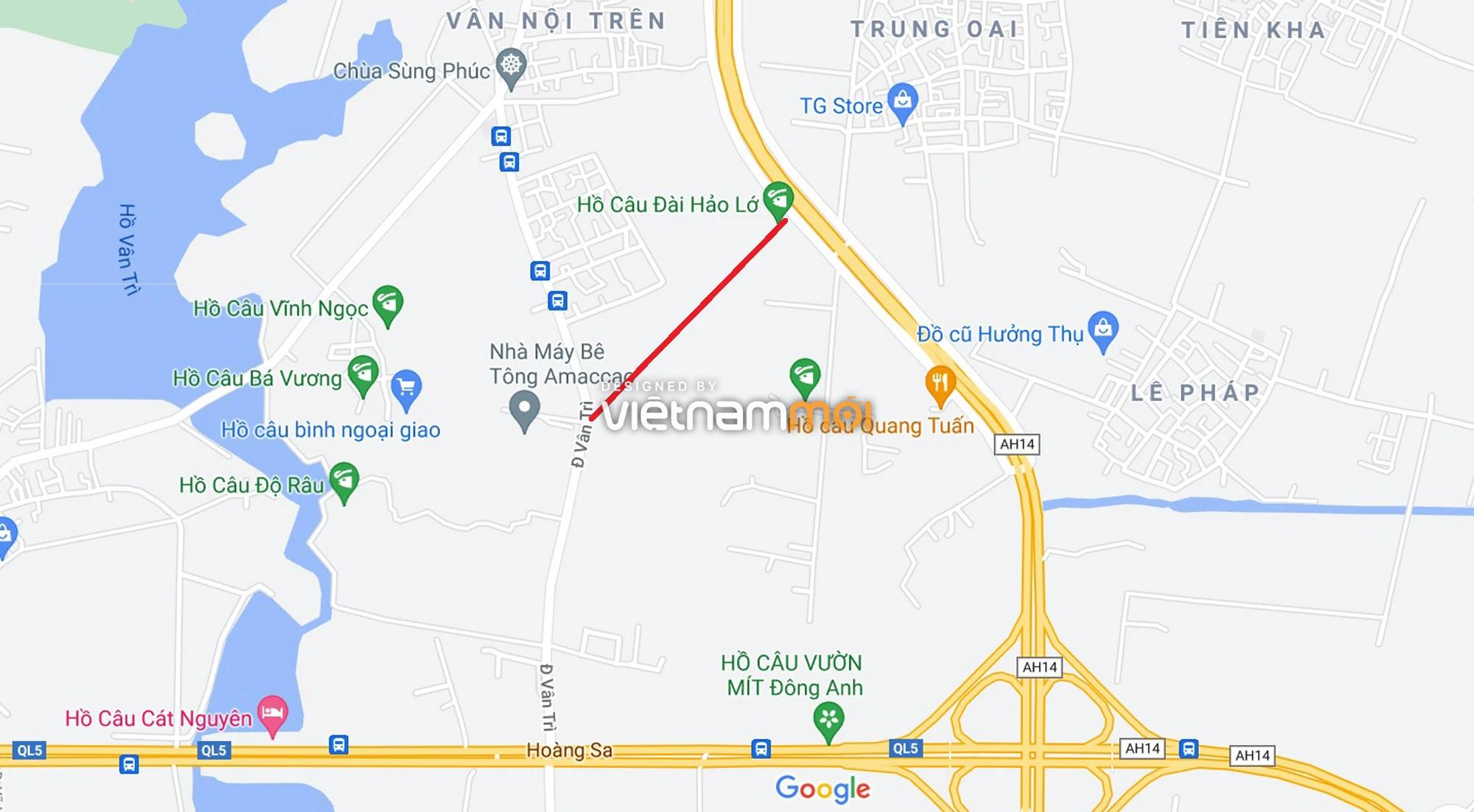 Đường sẽ mở theo quy hoạch xung quanh dự án Thành phố Thông minh Bắc Hà Nội (phần 2) - Ảnh 13.