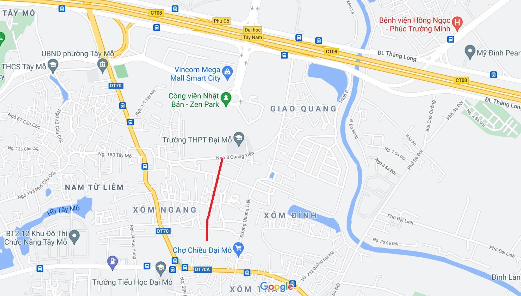 Đường sẽ mở theo quy hoạch xung quanh khu đô thị Vinhomes Smart City (phần 3) - Ảnh 6.