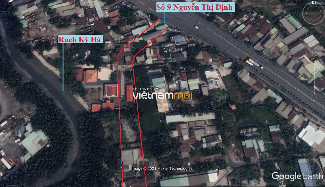 Đường sẽ mở theo quy hoạch ở phường Thạnh Mỹ Lợi, quận 2, Thủ Đức, TP HCM (phần 8) - Ảnh 3.