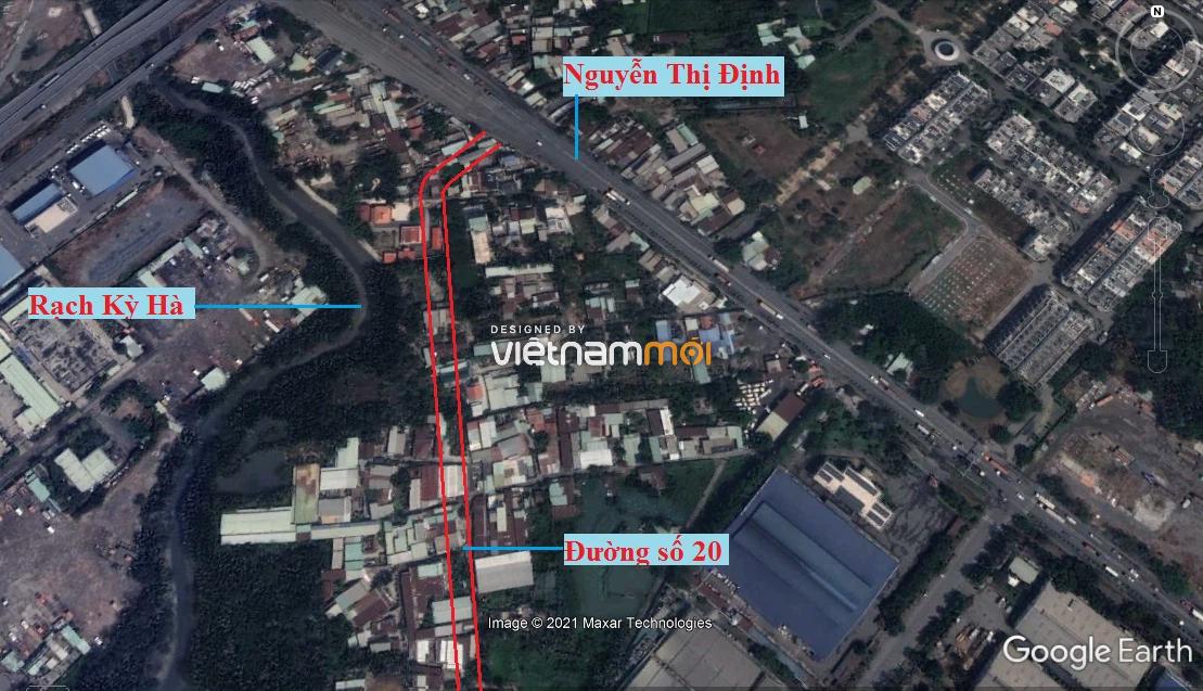 Đường sẽ mở theo quy hoạch ở phường Thạnh Mỹ Lợi, quận 2, Thủ Đức, TP HCM (phần 8) - Ảnh 2.