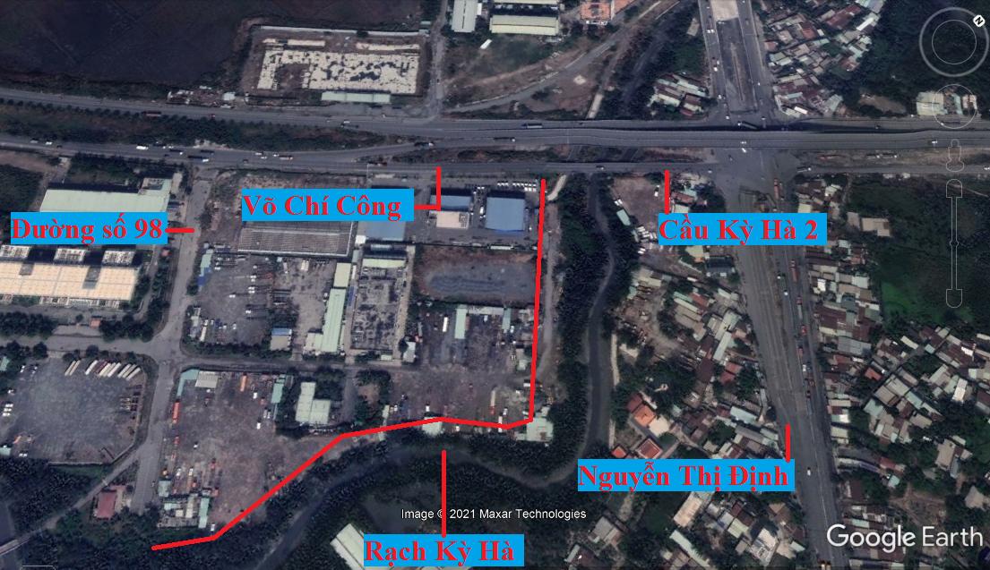 Đường sẽ mở theo quy hoạch ở phường Thạnh Mỹ Lợi, quận 2, Thủ Đức, TP HCM (phần 7) - Ảnh 8.