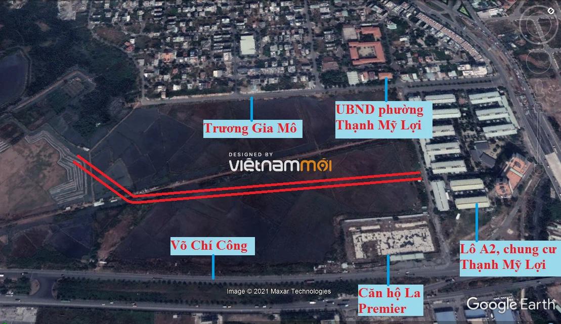 Đường sẽ mở theo quy hoạch ở phường Thạnh Mỹ Lợi, quận 2, Thủ Đức, TP HCM (phần 9) - Ảnh 2.