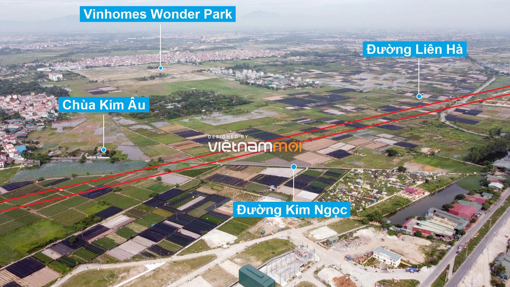 Đường sẽ mở theo quy hoạch xung quanh khu đô thị Vinhomes Wonder Park (phần 3) - Ảnh 3.
