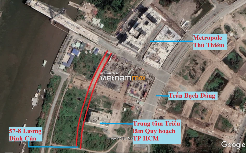 Đường sẽ mở theo quy hoạch ở phường An Khánh (cũ), quận 2, Thủ Đức, TP HCM (phần 1) - Ảnh 2.