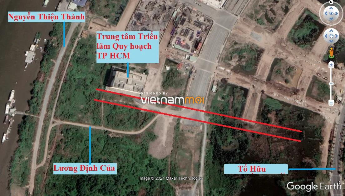 Đường sẽ mở theo quy hoạch ở phường An Khánh (cũ), quận 2, Thủ Đức, TP HCM (phần 1) - Ảnh 3.