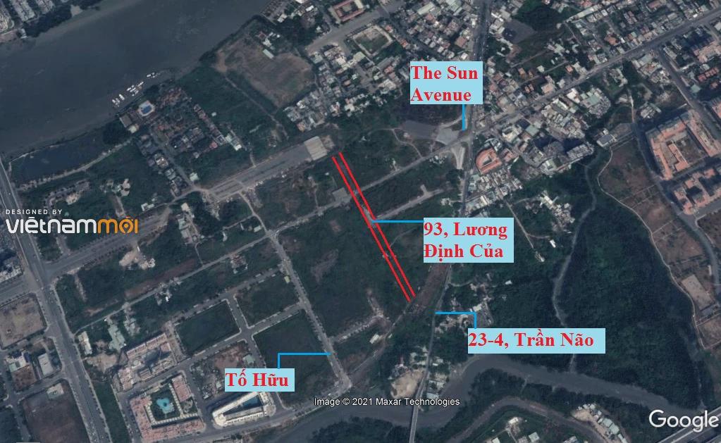 Đường sẽ mở theo quy hoạch ở phường Bình Khánh (cũ), quận 2, Thủ Đức, TP HCM (phần 1) - Ảnh 3.