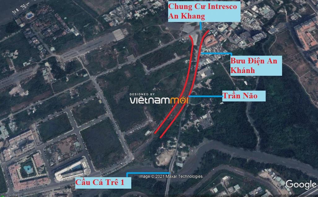 Đường sẽ mở theo quy hoạch ở phường Bình Khánh (cũ), quận 2, Thủ Đức, TP HCM (phần 1) - Ảnh 4.