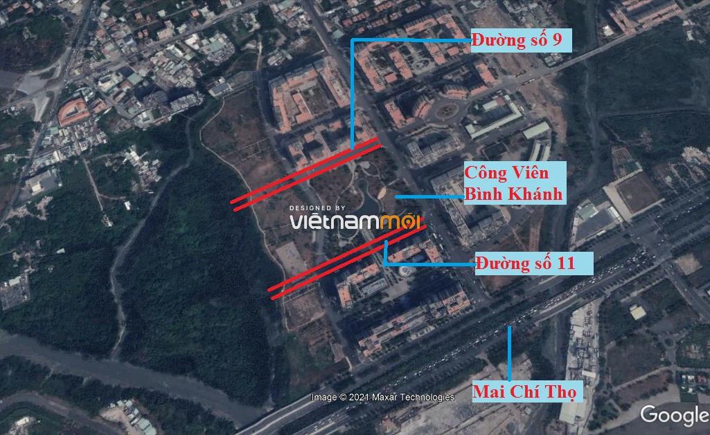 Đường sẽ mở theo quy hoạch ở phường Bình Khánh (cũ), quận 2, Thủ Đức, TP HCM (phần 1) - Ảnh 5.