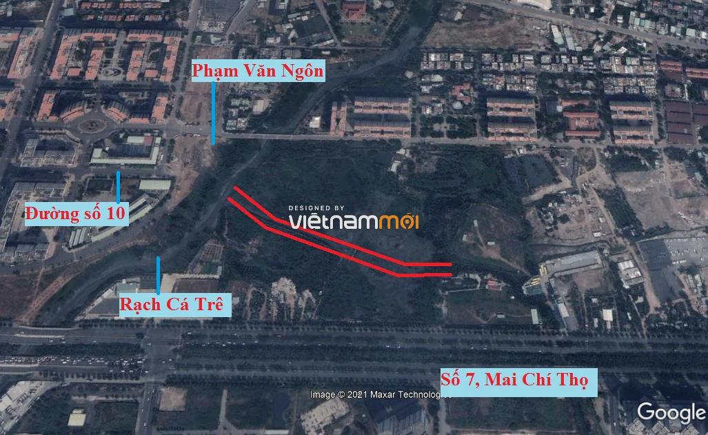 Đường sẽ mở theo quy hoạch ở phường Bình Khánh (cũ), quận 2, Thủ Đức, TP HCM (phần 1) - Ảnh 6.