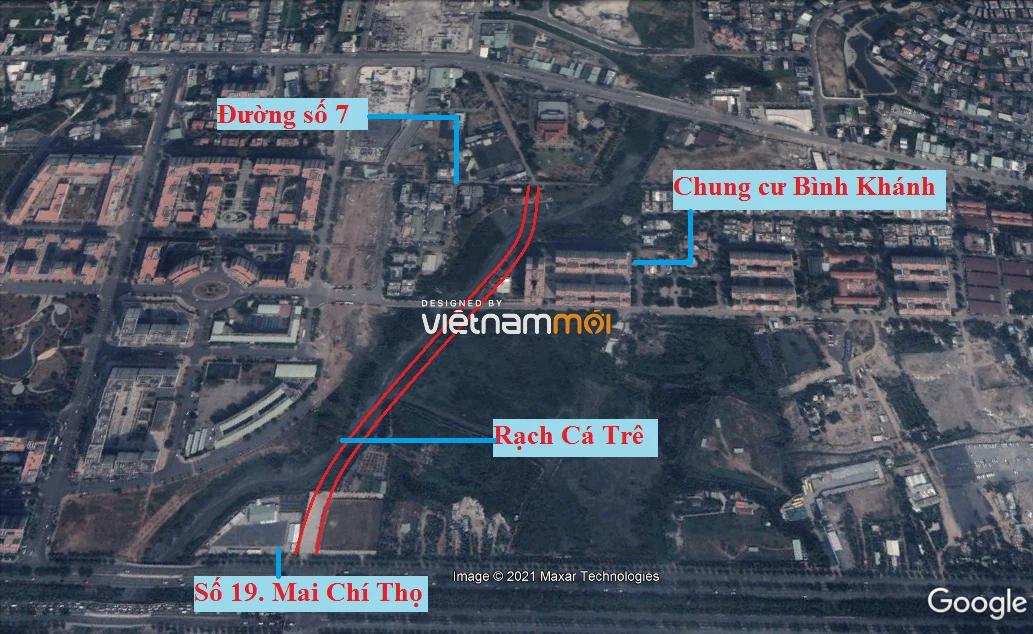 Đường sẽ mở theo quy hoạch ở phường Bình Khánh (cũ), quận 2, Thủ Đức, TP HCM - Ảnh 7.