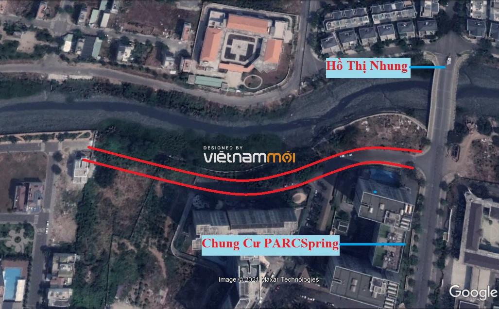 Đường sẽ mở theo quy hoạch ở phường Bình Trưng Tây, quận 2, Thủ Đức, TP HCM - Ảnh 8.