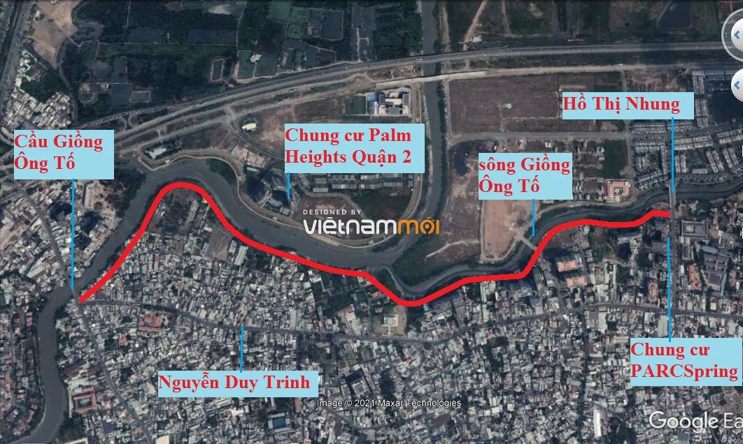 Đường sẽ mở theo quy hoạch ở phường Bình Trưng Tây, quận 2, Thủ Đức, TP HCM (phần 1) - Ảnh 2.
