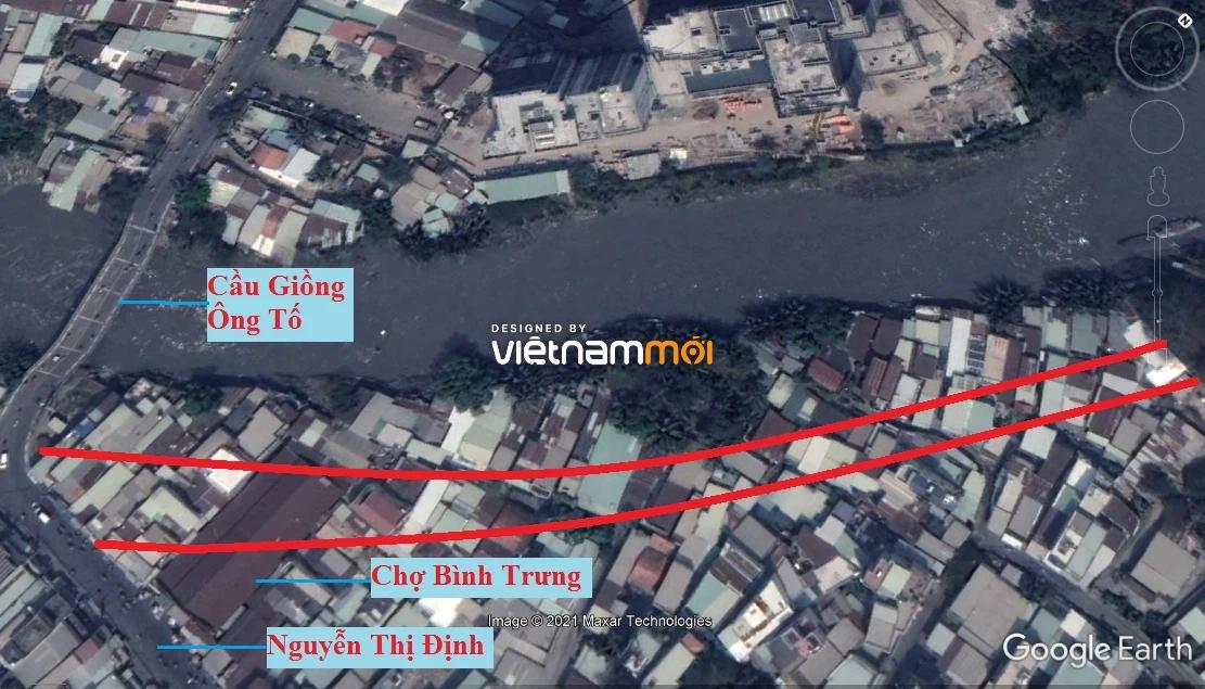 Đường sẽ mở theo quy hoạch ở phường Bình Trưng Tây, quận 2, Thủ Đức, TP HCM - Ảnh 2.