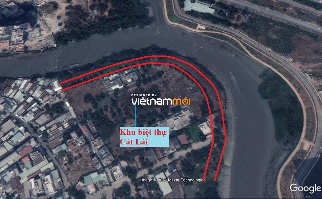 Đường sẽ mở theo quy hoạch ở phường Bình Trưng Tây, quận 2, Thủ Đức, TP HCM - Ảnh 3.