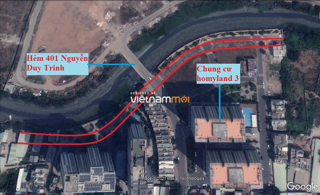 Đường sẽ mở theo quy hoạch ở phường Bình Trưng Tây, quận 2, Thủ Đức, TP HCM - Ảnh 7.