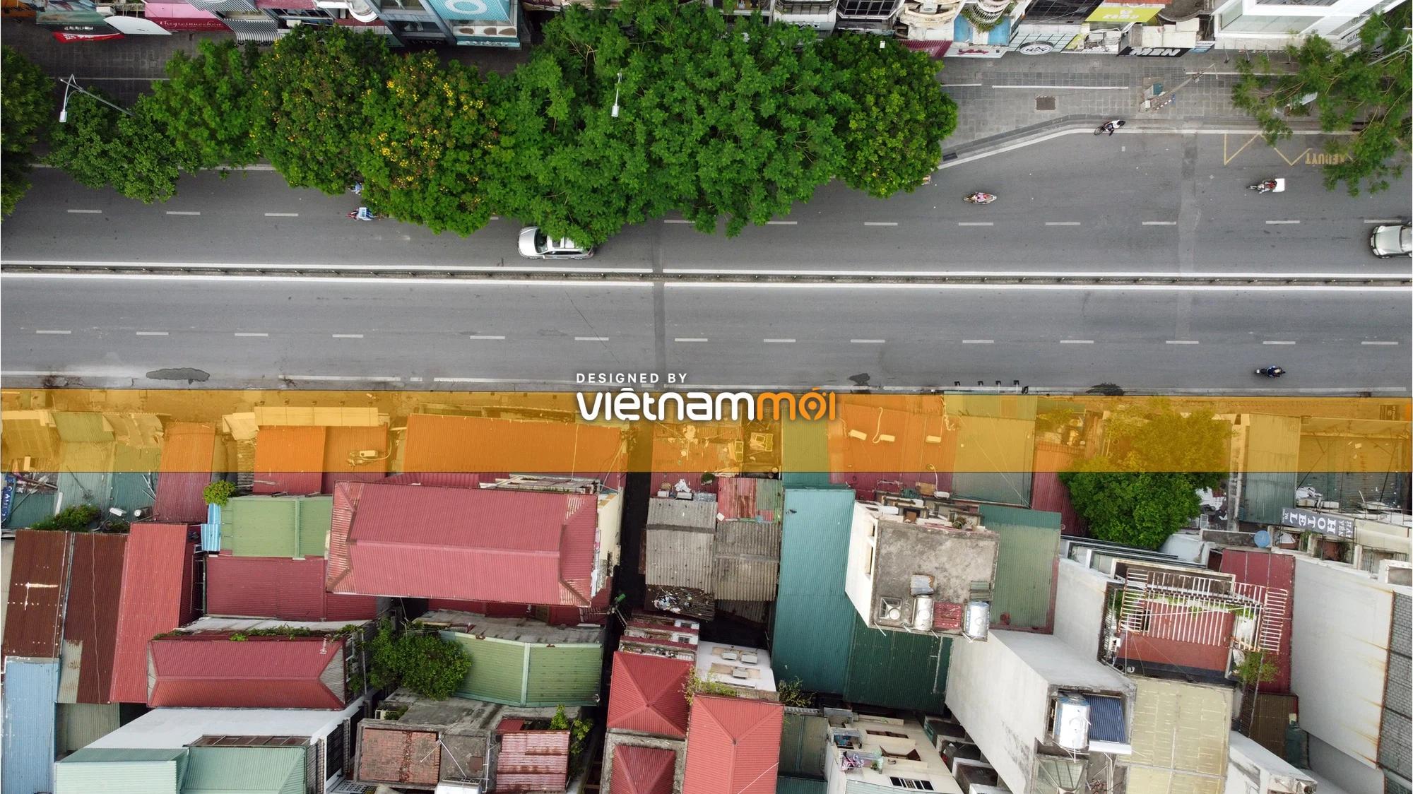 Cận cảnh khu vực thu hồi đất để hoàn thiện nút giao Chùa Bộc - Thái Hà - Ảnh 8.